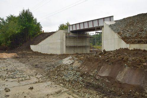 nowy wiadukt Bystrzyca Kłodzka Przedmieście